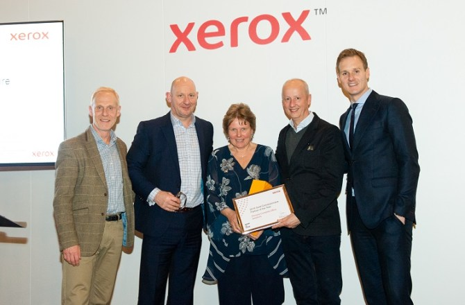 Pinnacle Awarded Gold Concessionaire of the Year by Xerox