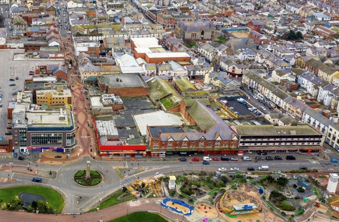 Rhyl's Town Regeneration to Include Retail, Food and Market Space