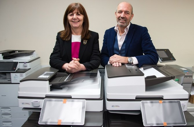 Praise for Wrexham Copier Firm After Rapid Expansion and Creation of New Jobs