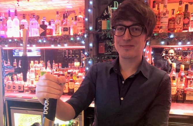 Cardiff's Brewhouse Bartender Turns Over £1M in Sales