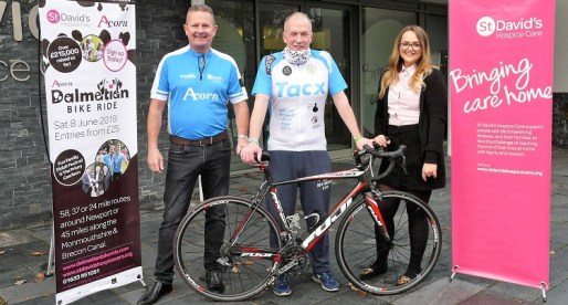 Round the World Merthyr Cyclist Targets Charity Ride Closer to Home