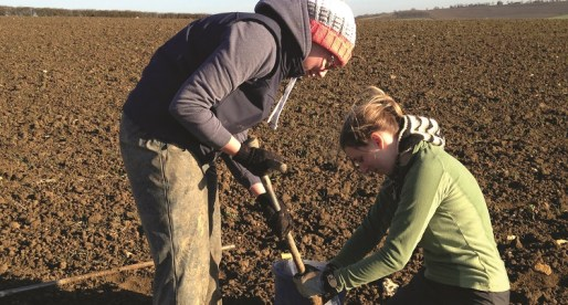 Organic Dairy Farm Hosting Soil and Biodiversity Conference