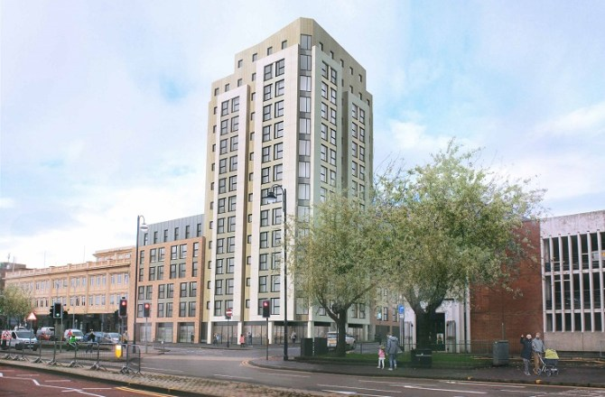Knight Frank Sells 307 Bed Swansea Student Scheme