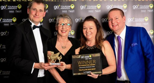 Talyllyn Railway Wins Go North Wales Tourism Marketing Award