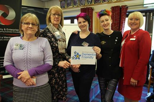 Torfaen Businesses Become Dementia Friendly