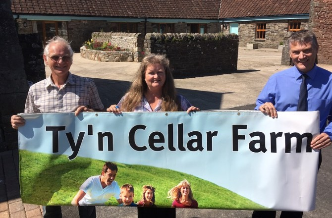 Margam's Ty'n Cellar Farm Holiday Cottages Opens after Six Figure Investment