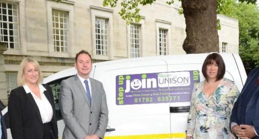 Unison Backs Swansea's Electric Vehicle Fleet Initiative