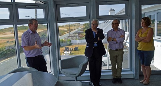 Minister Opens New Facility at Five-Star Welsh Holiday Park