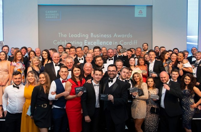 Launch of the Cardiff Business Awards 2019