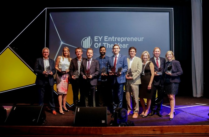 Welsh Entrepreneur Wins at EY London & South Entrepreneur Of The Year 2018