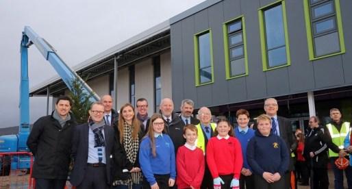 Key Milestone in the Construction of Ysgol Gymraeg Bro Dur