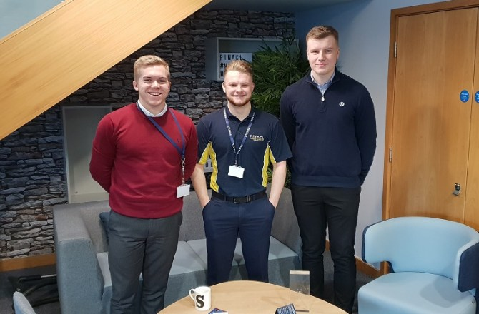 North Wales Tech Firm Celebrates Achievements of its Apprentices