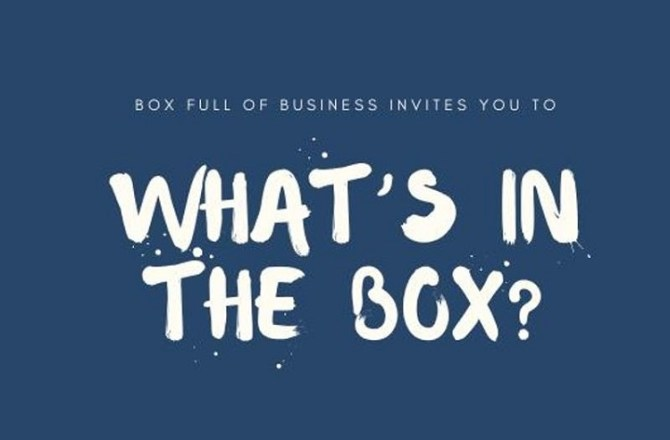 <strong> 4th June – Pencoed </strong><br> What&#8217;s in The Box?