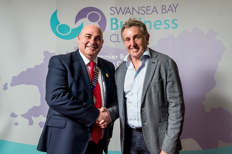 Swansea Bay Business Club Event takes place at Parc y Scarlets, Llanelli