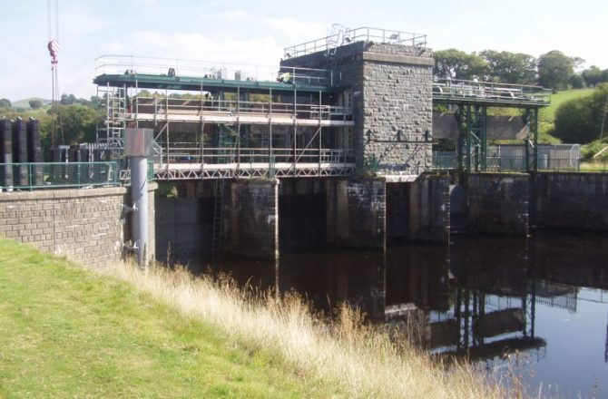 Bala Flood Gate Refurbishment Complete