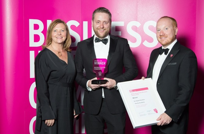 Do Digital Realities Winner at BiTC Cymru Awards