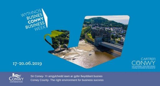 <strong> 17th &#8211; 20th June – Conwy </strong><br>Conwy Business Week 2019