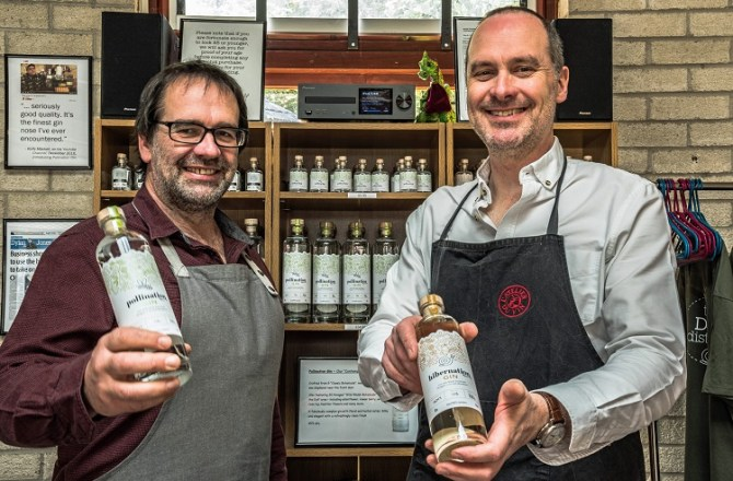 Dyfi Distillery Shortlisted for Two Business Awards