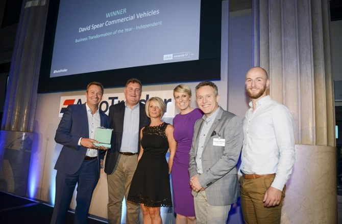 Commercial Vehicle Specialist Wins Prestigious Business Transformation of the Year Accolade
