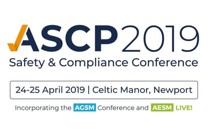 <strong> 24th &#038; 25th April – Newport </strong><br> ASCP Safety &#038; Compliance Conference 2019