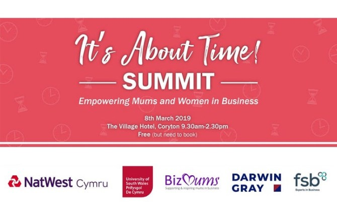 <strong> 8th March – Cardiff </strong><br> It&#8217;s About Time Summit