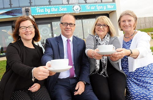 Tourism Business 'Tea by the Sea' Awarded Carmarthenshire Rural Enterprise Fund