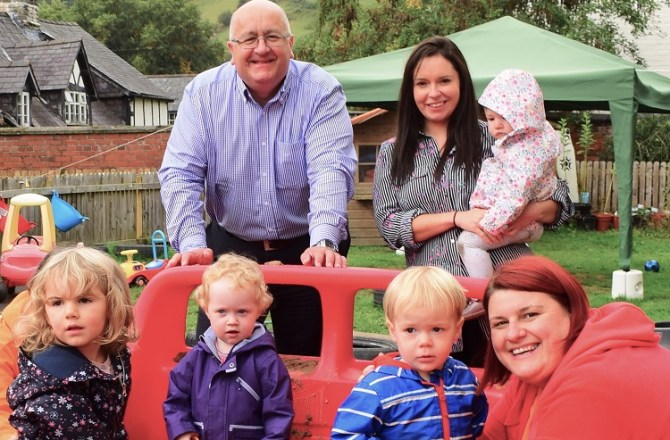 Ethical Lender Supports Powys Day Nursery