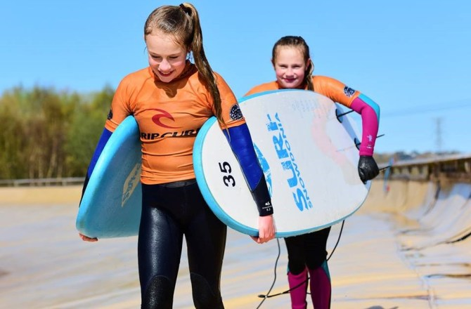 Rip Curl and Surf Snowdonia Partner to Deliver a Unique Fast-Track Residential Surf Camp