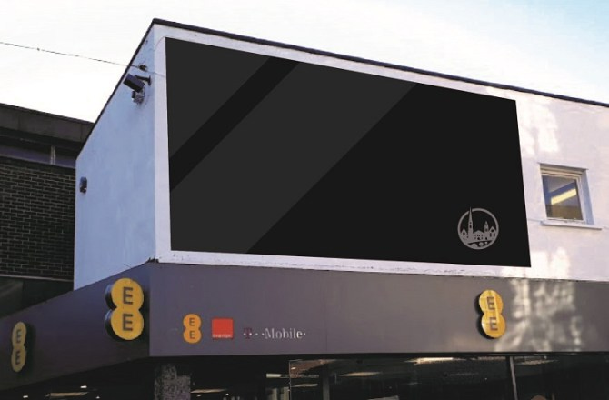 Your Pontypridd BID Invests in Town's Future with Digital Advertising Screen