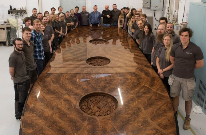 Fast-Growing Wrexham Furniture Firm Expands Under Guidance of Beer Supremo