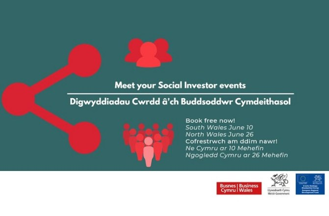 <strong> 10th June – Cardiff </strong><br> Meet Your Social Investor 2019