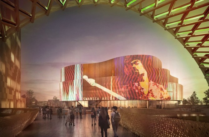 World Class Entertainment Pledge for Swansea's Indoor Arena