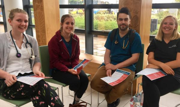 University's Cardiac Team Help Raise Awareness of High Blood Pressure as Part of May Measurement Month