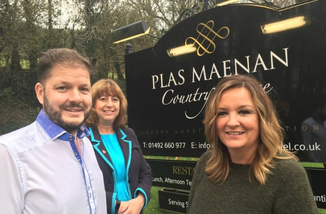 Plas Maenan Country House Secures £900,000 Investment Supported by Barclays