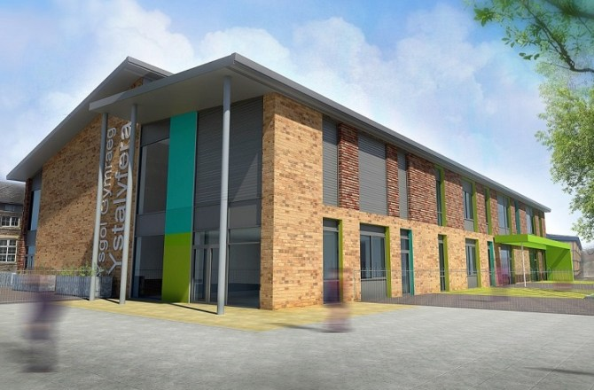 Dawnus Appoints AB Glass for Welsh School Project in Neath Port Talbot