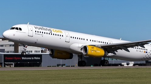 Vueling to Boost its Services from Cardiff Airport for the Summer Season