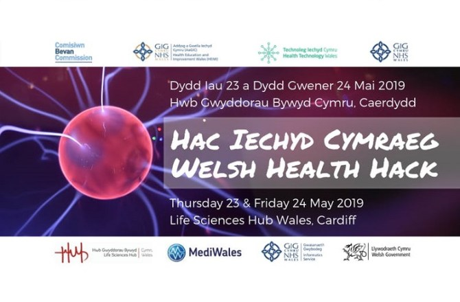<strong> 23rd &#038; 24th May – Cardiff </strong><br> Welsh Health Hack 2019