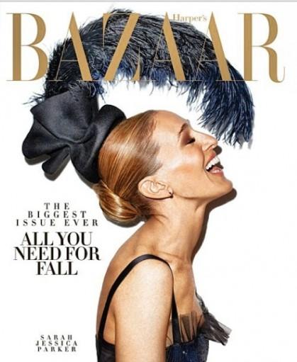 Sarah Jessica Parker for Harper 2
