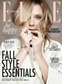 Scarlett Johansson on Elle Canada