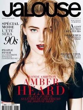 Amber Heard on Jalouse