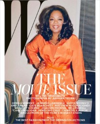 Oprah for the W Movie Issue