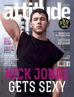 Nick Jonas for Attitude