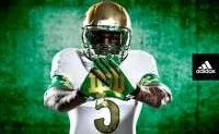 adidas Notre Dame Shamrock Series_gloves