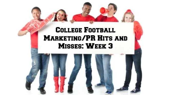 college football marketing, college football public relations, college football social media