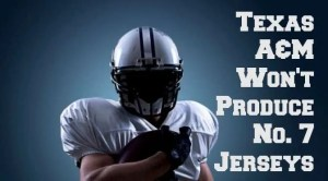 Texas A&M Won't Produce No. 7 Jerseys
