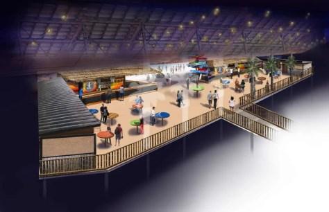 2 ESC under stadium