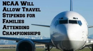 NCAA travel stipends