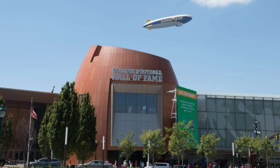 Goodyear Blimp College Football Hall of Fame