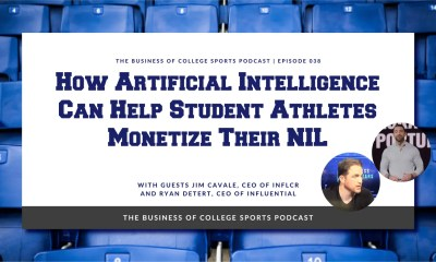 INFLCR and Influential podcast cover with Jim Cavale and Ryan Detert