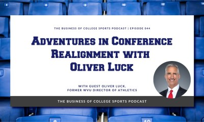 Oliver Luck on WVU conference realignment